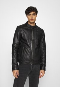 Oakwood - FREDERIC - Kožená bunda - noir - 0