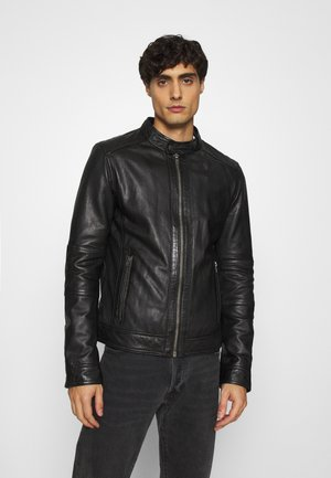 FREDERIC - Kožená bunda - noir