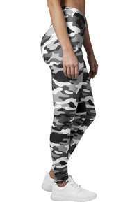 Urban Classics - Leggings - Trousers - snow camo - 2