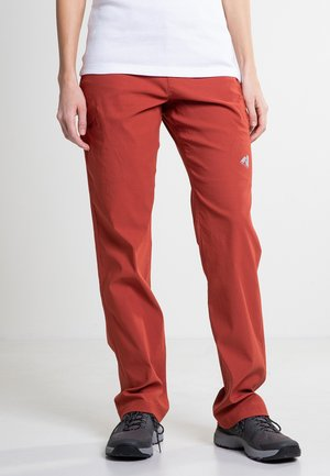 GUIDE  - Outdoor trousers - red