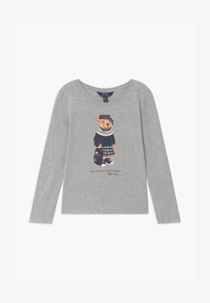 BEAR - T-shirt à manches longues - heather grey