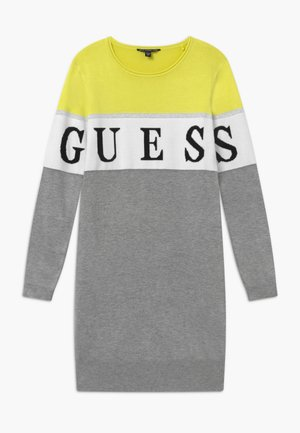 JUNIOR - Vestido de punto - grey