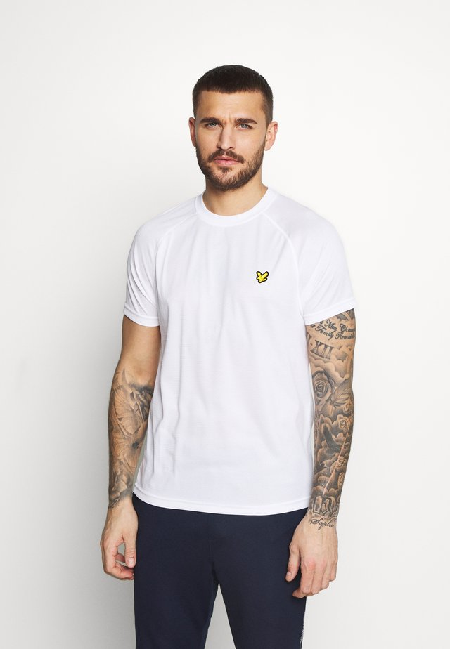 CORE RAGLAN - Basic T-shirt - white