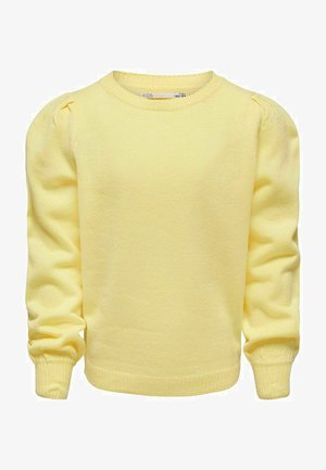 PUFFÄRMEL - Trui - mellow yellow