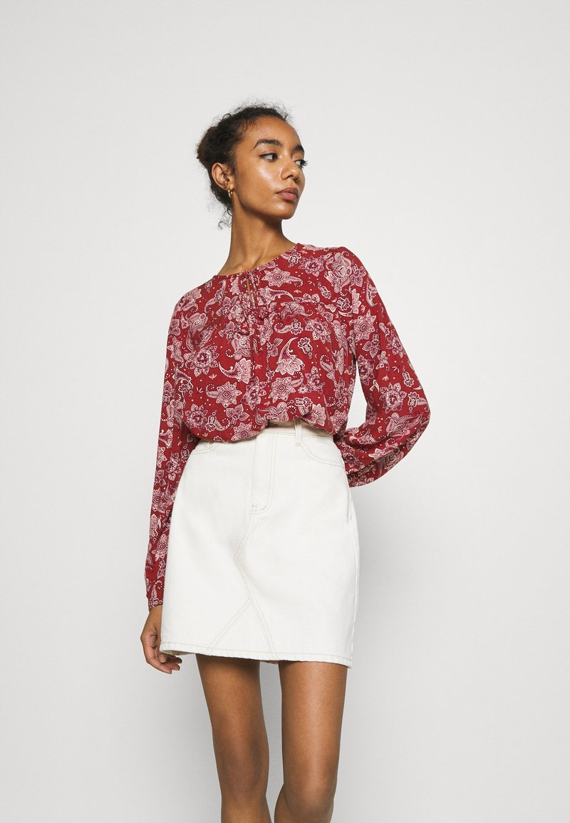 ONLY - ONLVIRGINIA LIFE - Blouse - burnt henna
