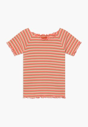 TEENAGER - Triko spotiskem - neon peach