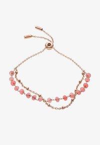 Fossil - VINTAGE GLITZ - Bracelet - rose gold - 0