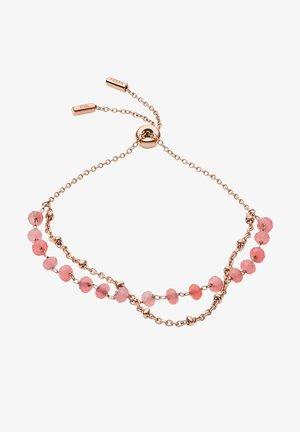 VINTAGE GLITZ - Bracelet - rose gold