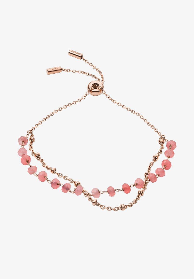 Fossil - VINTAGE GLITZ - Bracelet - rose gold
