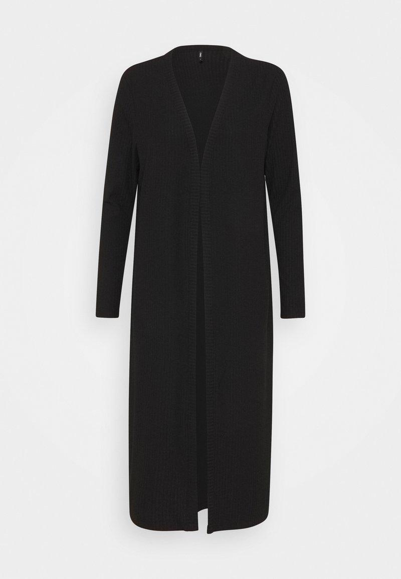 ONLY Petite - ONLNELLA LONG CARDIGAN  - Cardigan - black
