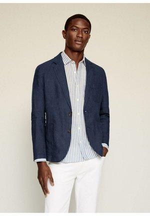 BISLAVE - Blazer jacket - marineblauw