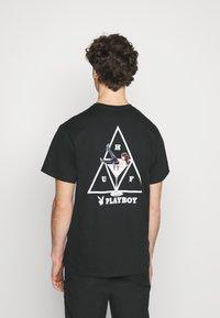 HUF - PLAYBOY PLAYMATE TEE - Print T-shirt - black - 2