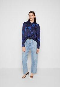 PS Paul Smith - SHIRT - Button-down blouse - dark blue - 4