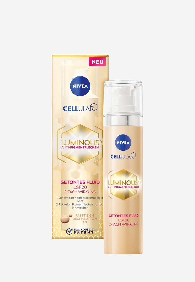 Nivea - CELLULAR LUMINOUS TINTED DAY CARE - Face cream - -