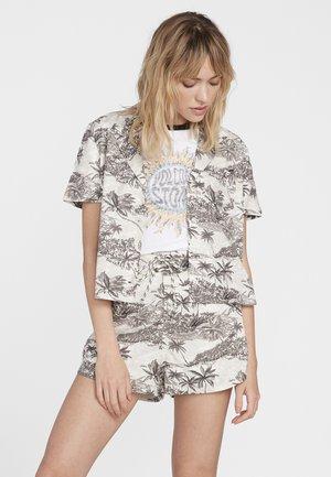 GEN WOW SS - Button-down blouse - white