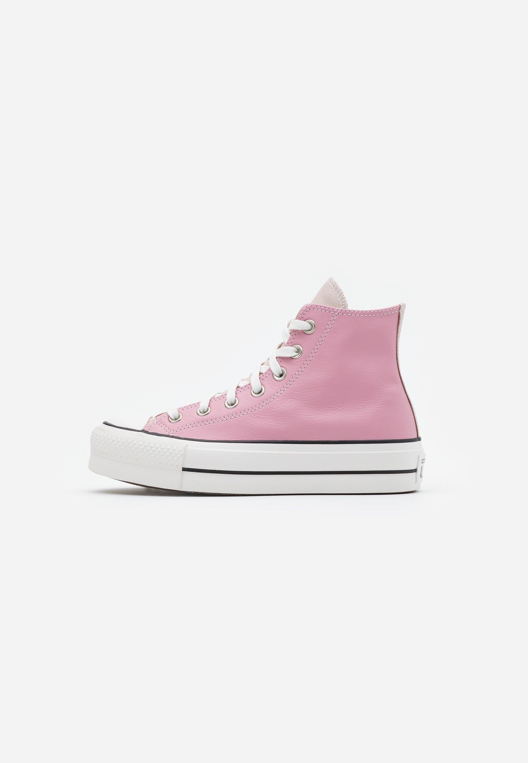 converse platform rosa alte