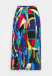 Lauren Ralph Lauren - SKIRT - Pleated skirt - black/multi - 6