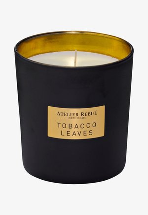 SCENTED CANDLE TOBACCO LEAVES 210G - Scented candle - brown