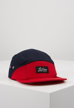 SPLIT  - Gorra - red/navy