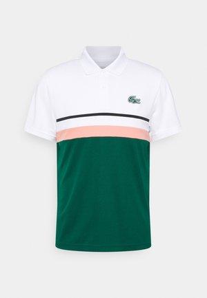 TENNIS - Polo shirt - white/pink/black
