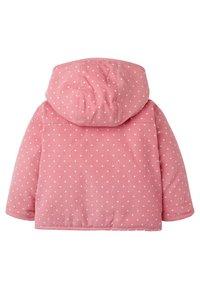 Boden - MIT APPLIKATION - Winter jacket - kirschblütenrosa, pünktchen - 1
