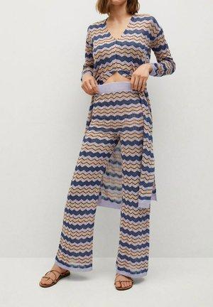 Kalhoty - lila