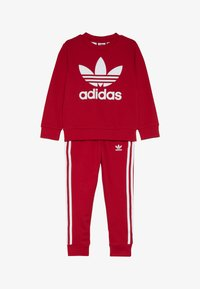 adidas Originals - CREW SET - Survêtement - scarlet/white - 4