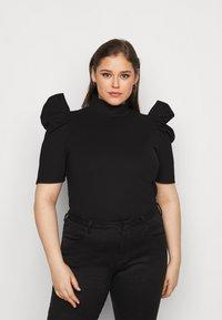 Pieces Curve - PCRYLEE  - Basic T-shirt - black - 0