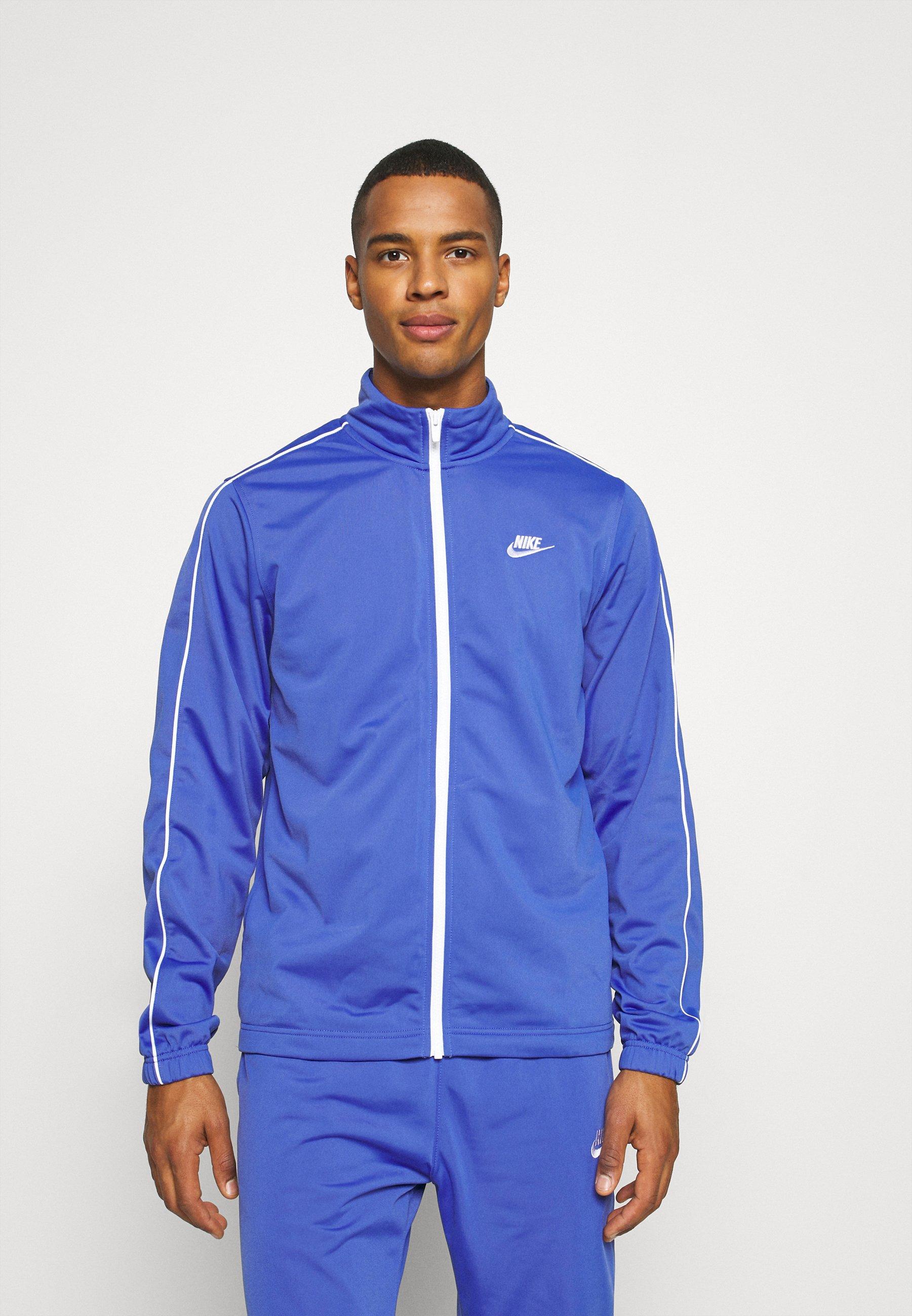 Nike Sportswear Suit Basic - Treningsdress Astronomy Blue/white/kongeblå
