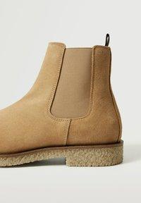 Mango - CREPBTN - Classic ankle boots - écru - 5