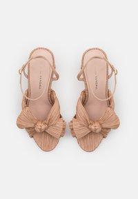 Loeffler Randall - CAMELLIA - Sandály na vysokém podpatku - dune - 4