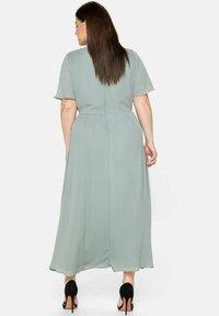 Sheego - Maxi dress - eukalyptus - 2