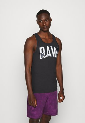 MULTI LAYER RAW GR  - Linne - dark black