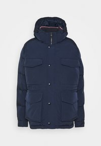 Tommy Hilfiger - ROPE DYE AIRFIELD - Winter coat - blue - 0