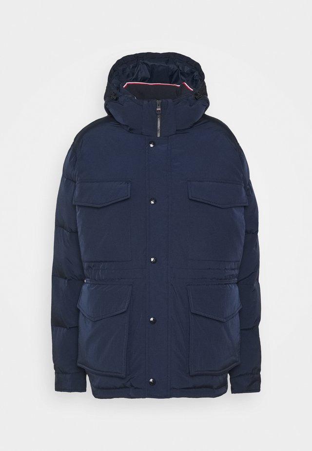 ROPE DYE AIRFIELD - Winter coat - blue