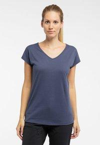 Haglöfs - FUNKTIONSSHIRT CAMP TEE - Basic T-shirt - dense blue - 0