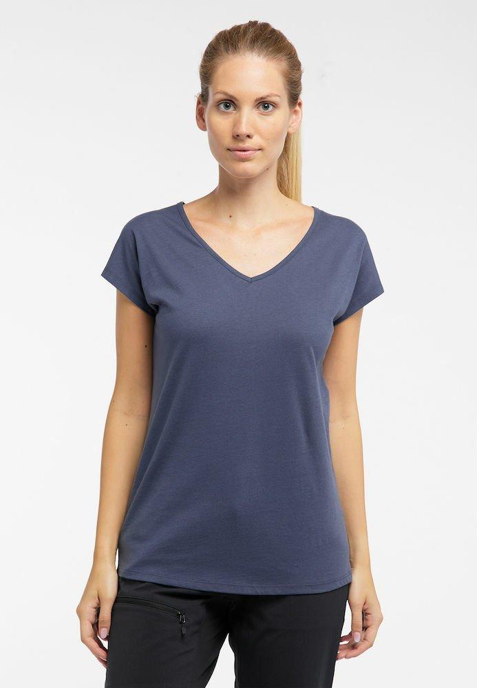Haglöfs - FUNKTIONSSHIRT CAMP TEE - Basic T-shirt - dense blue