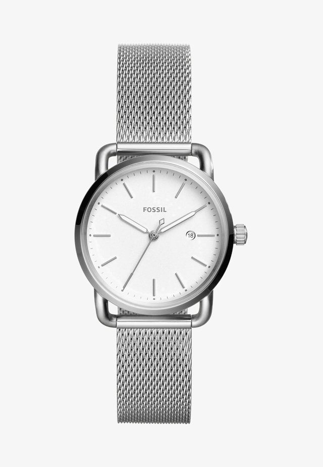 THE COMMUTER 3H DATE - Watch - silver-coloured