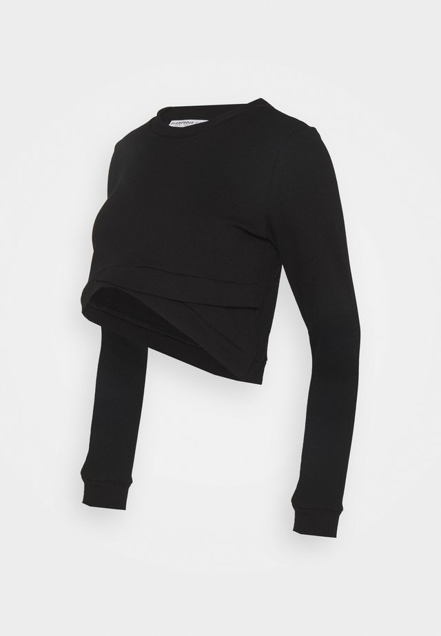 CROPPED - Felpa - black