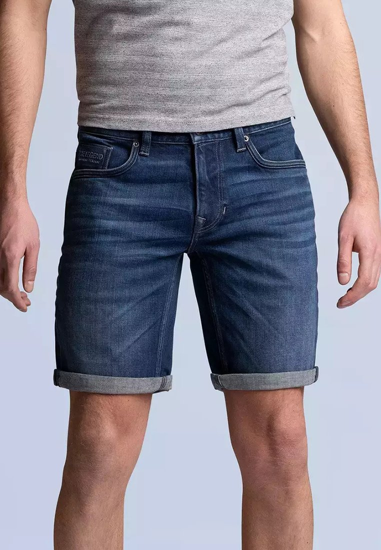 PME Legend - NIGHTFLIGHT - Denim shorts - dark used comfort