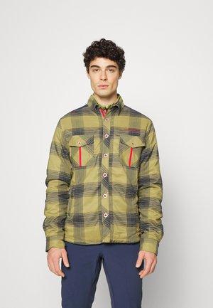 Outdoor jacket - cedar/night blue