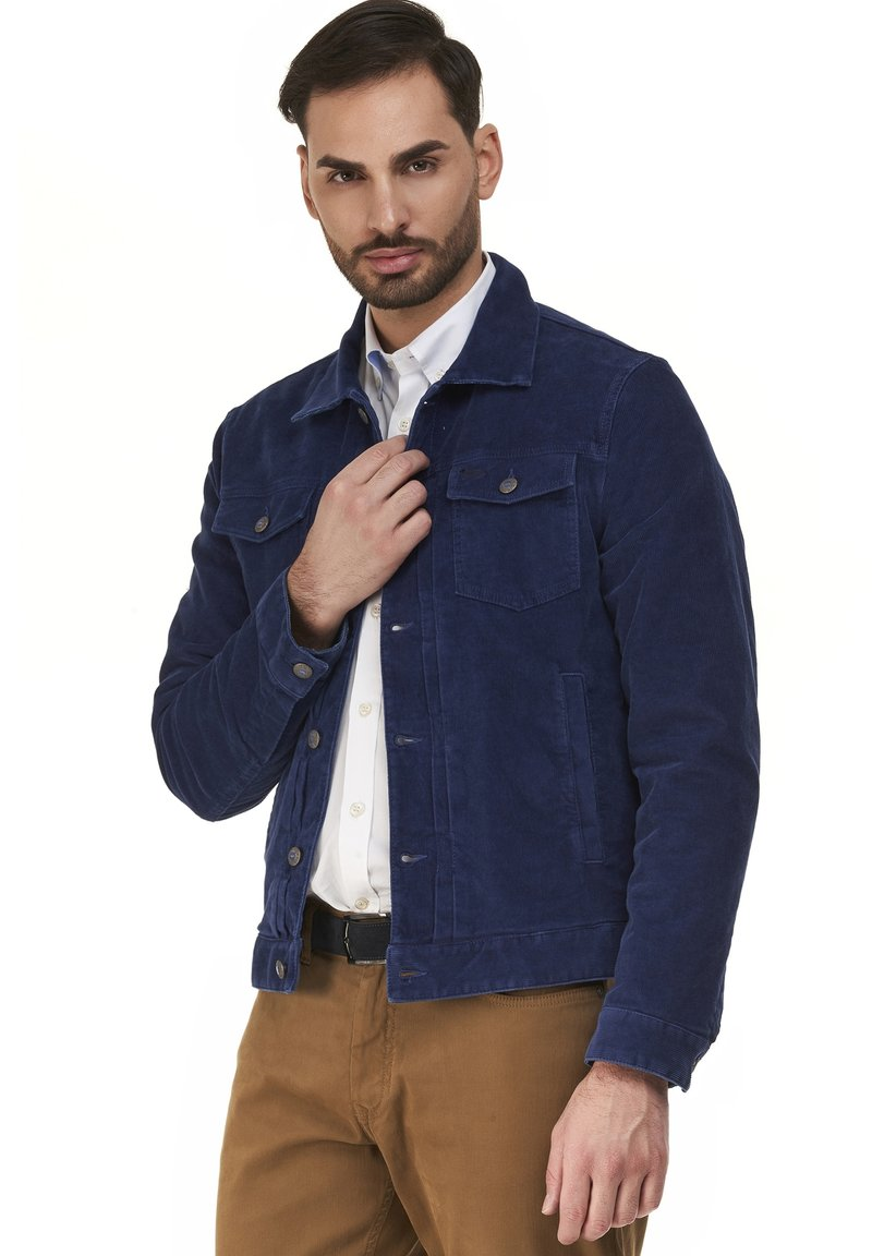 Harmont & Blaine - Denim jacket - blu scuro