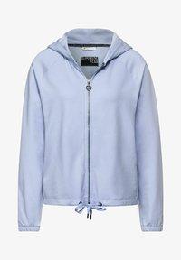 Street One - Sweater met rits - blau - 3