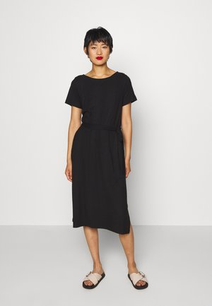 OBJCELIA DRESS - Jersey dress - black