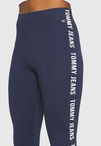 Tommy Jeans - SKINNY TAPE  - Leggingsit - twilight navy - 3