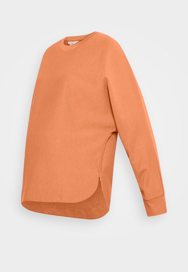 ANDY JUMPER - Sweatshirt - terracota