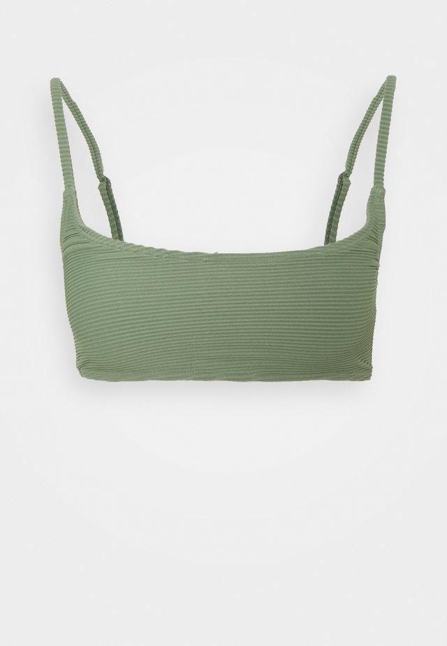 SPORTY - Bikini pezzo sopra - green