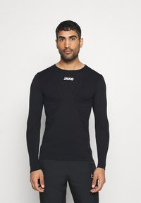 JAKO - LONGSLEEVE COMFORT - Long sleeved top - black - 0