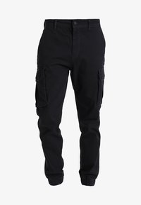 Pier One - Pantalon cargo - black - 5
