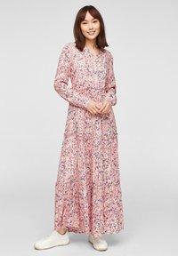 s.Oliver - Maxi dress - light blush - 1